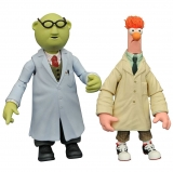 Figurky Becher & Bunsen - The Muppets Select Action Figures 2-Pack Series 2