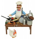 Figurka The Swedish Chef Deluxe Gift Set - The Muppets Action Figure