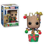 Figurka Groot (Lights & Ornaments) - Marvel Comics POP! Marvel Holiday Vinyl Bobble-Head