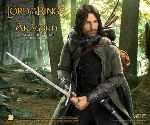 Figurka Aragorn Deluxe Version - Lord of the Rings Real Master Series Action Figure 1/8
