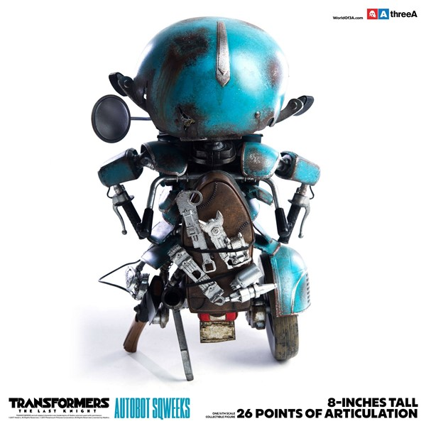 Figurka Autobot Sqweeks - Transformers The Last Knight Action Figure 1/6