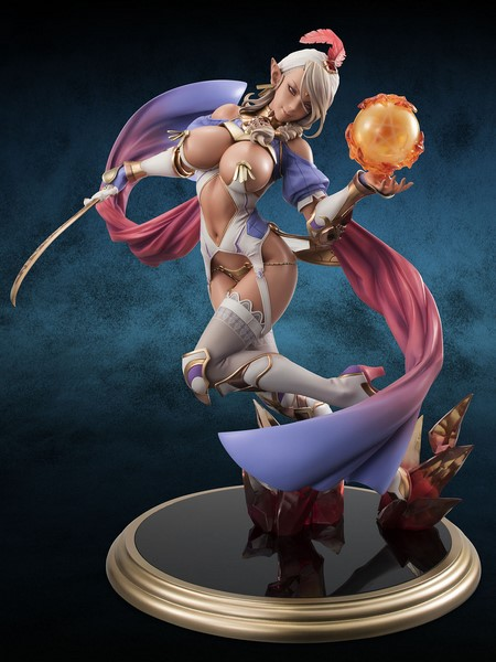 Figurka Dark Elf DX Ver. - Bikini Warriors Excellent Model Core PVC Statue 1/7