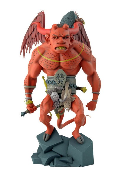 Soška The First Hellboy - Hellboy Statue by Mike Mignola