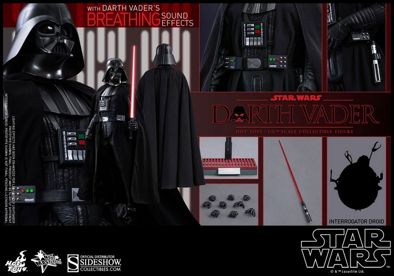 Figurka Darth Vader - Star Wars Movie Masterpiece Action Figure 1/6
