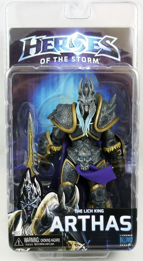 Figurka Arthas The Lich King (World of Warcraft) - Heroes of the Storm Figure Series