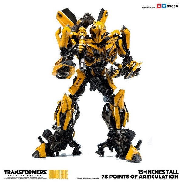 Figurka Bumblebee - Transformers The Last Knight Action Figure 1/6