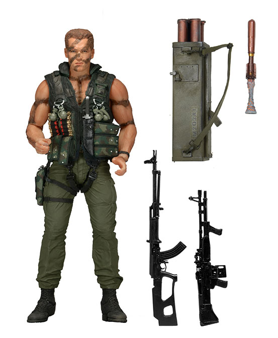 Figurka Ultimate John Matrix - Commando Action Figure 30th Anniversary