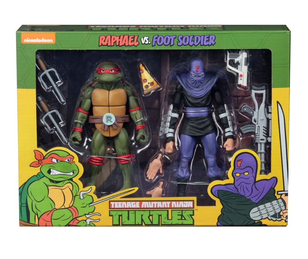 Figurky Raphael vs Foot Soldier - Teenage Mutant Ninja Turtles Action Figure 2-Pack