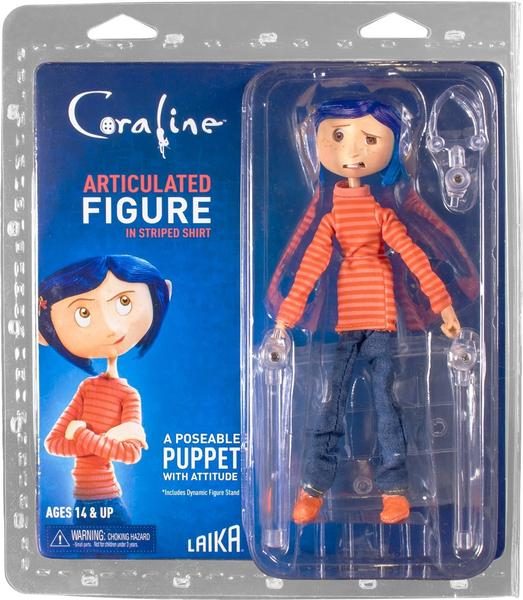 Figurka Coraline in Striped Shirt and Jeans - Coraline Articulated Figure