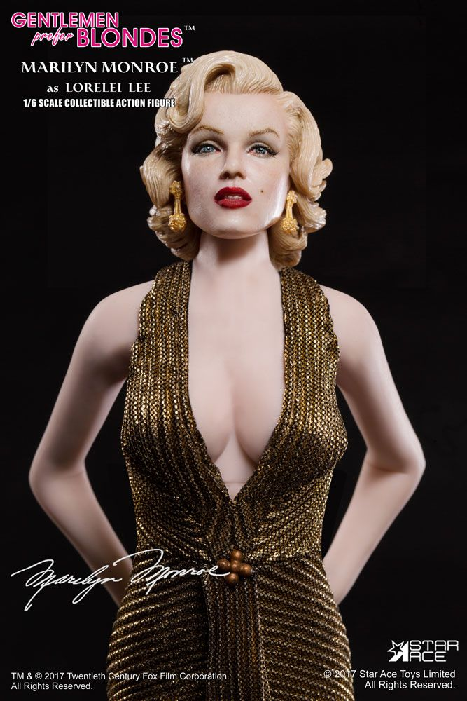 Figurka Marilyn Monroe - Gentlemen Prefer Blondes My Favourite Legend Figure 1/6
