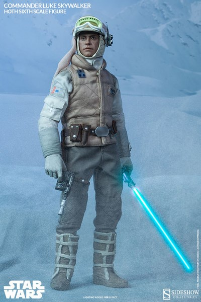 Figurka Commander Luke Skywalker Hoth - Star Wars Action Figure 1/6 - Sideshow