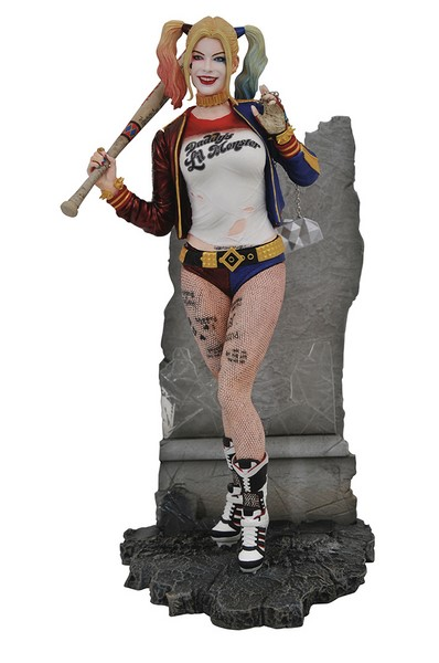 Soška Harley Quinn - Suicide Squad DC Movie Gallery PVC Statue