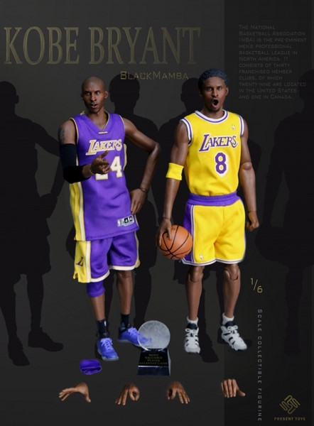 Figurka Kobe Bryant 1/6 Action Figure