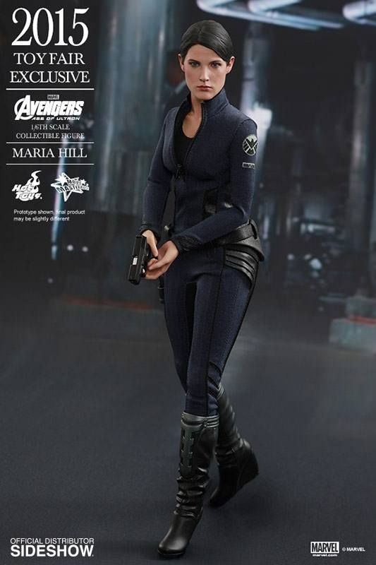 Figurka Maria Hill Toy Fair Exclusive 2015 - Avengers Age of Ultron Movie Masterpiece Action Figure 1/6