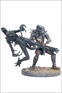 Figurky CELTIC PREDATOR THROWS ALIEN - Alien vs. Predator Serie 2 - McFarlane