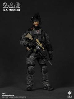 Figurka DA Mission - S.A.D Special Operation Group 1/6 Figure