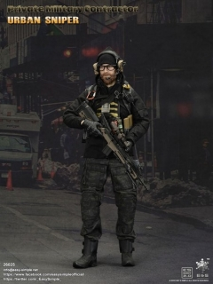 Figurka Urban Sniper - Private Military Contractor 1/6 Military Action Figure