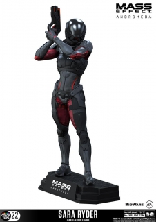 Figurka Sara Ryder  - Mass Effect Andromeda Color Tops Action Figure