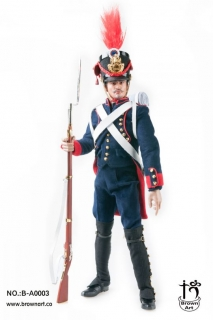 Figurka French Field Artillery Gunner Of Napoleonic Wars (Deluxe Version) 1/6 Action Figure