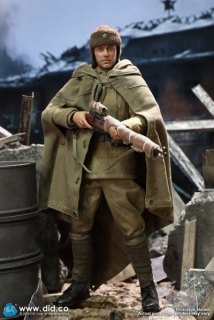 Figurka Vasily Grigoryevich Zaytsev 10th Anniversary Edition (Weathering Version) - WWII USSR Battle Of Stalingrad 1942