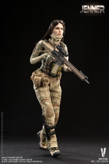 Figurka Jenner (Style A) - A-TACS FG Double Women Soldier 1/6 Action Figure