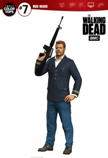 Figurka Abraham Ford - The Walking Dead TV Version Color Tops Figure