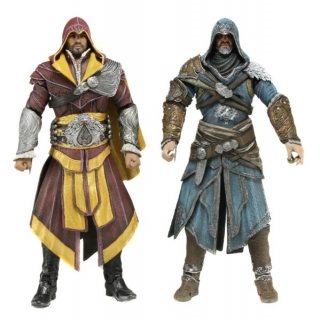 Figurky Ezio Auditore - Assassin's Creed Revelations Action Figure 2-pack - Neca