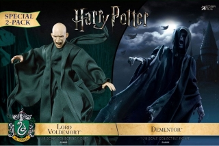 Figurky Dementor & Lord Voldemort - Harry Potter Action Figure 2-Pack 1/8