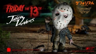 Figurka Jason Voorhees Deluxe Version - Friday the 13th Defo-Real Series Soft Vinyl Figure