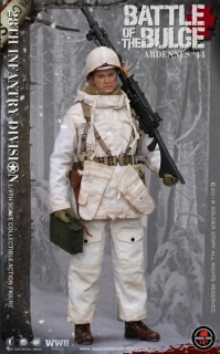 Figurka Battle Of The Bulge Ardennes 1944 - U.S. Army 28th Infantry Division 1/6 Figure