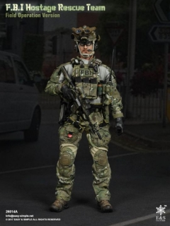 Figurka FBI Hostage Rescue Team (Field Operation Version) 1/6 Military Action Figure