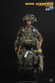 Figurka 82nd Airborne Division Paratroopers (Panama 1989-1990) - U.S. Army 1st Brigade 1/6 Action Figure