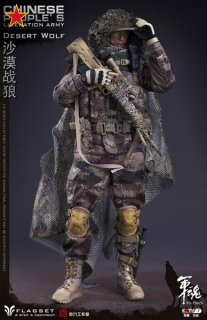 Figurka Desert Wolf - Chinese Peoples Liberation Army 1/6 Action Figure