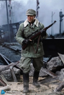 Figurka Major Erwin König (10th Anniversary Edition) - WWII German Battle Of Stalingrad 1942