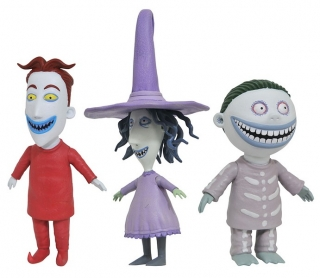 Figurky Lock, Shock and Barrel - Nightmare before Christmas Action Figure
