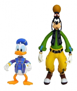 Figurky Goofy & Donald - Kingdom Hearts 3 Select Action Figures 2-Pack