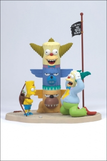 Figurka KRUSTY AND BART: