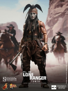 Figurka Tonto - The Lone Ranger Movie Masterpiece Action Figure 1/6 - Hot Toys