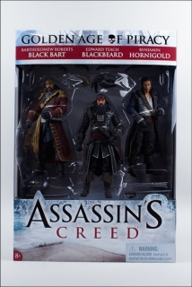 Figurky The Golden Age of Piracy 3-Pack - Assassin's Creed IV: Black Flag