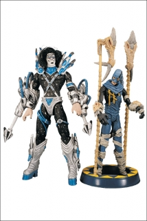 Figurka ACE FREHLEY WITH STILTMAN - KISS SERIES 2 - PSYCHO CIRCUS - McFarlane