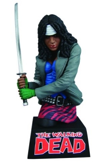 Pokladnička Michonne - The Walking Dead Bust Bank - 20 cm