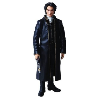Figurka Ichabod Crane - Sleepy Hollow Ultra Design Action Figure - Ospalá díra