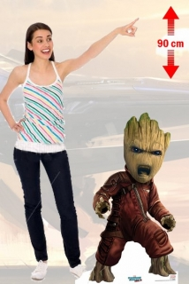 Kartonová postava Baby Groot - Guardians of the Galaxy Lifesize Cardboard Cutout