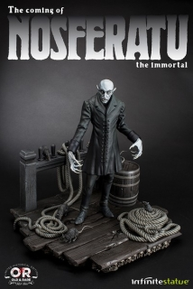 Soška NOSFERATU THE IMMORTAL - OLD&RARE RESIN STATUE