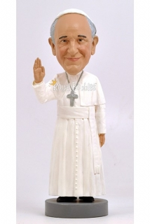 Figurka Pope Francis Bobble-Head