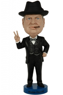 Figurka Winston Churchill Bobble-Head