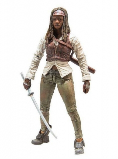 Figurka Michonne - THE WALKING DEAD - ŽIVÍ MRTVÍ - TV SERIES 7 - McFarlane