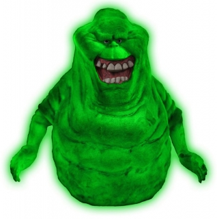 Pokladnička Ghostbusters Bust Bank Glow-In-The-Dark Slimer