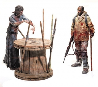 Figurky Morgan & Walker - The Walking Dead TV Version Deluxe Box 2-Pack Serie 8