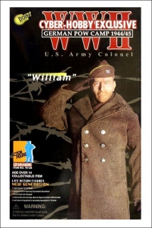 Figurka William Hart - U.S.Army Colonel, German POW Camp 1944/45 - Exclusive